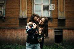 Victoria and Ksenia