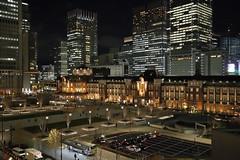 Tokyo Station from Shin Marubiru building