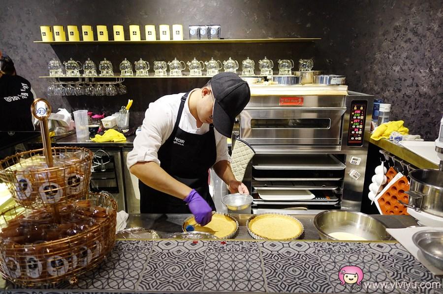 [桃園美食]NOIR coffee&bistro.店家自製甜點~紐約摩登風格好拍照.耶誕節限定蛋糕 @VIVIYU小世界