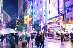 """Rainy Shinjuku Night, Tokyo 雨の新宿 • <a style=""""font-size:0.8em;"""" href=""""http://www.flickr.com/photos/69809940@N08/38446486091/"""" target=""""_blank"""">View on Flickr</a>"""
