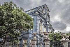 """""""The blue house""""...  Palacete Rodríguez Quegles..."""