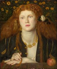 "Dante Gabriel Rossetti ""Bocca Baciata"" (Lips That Have Been Kissed) 1859"