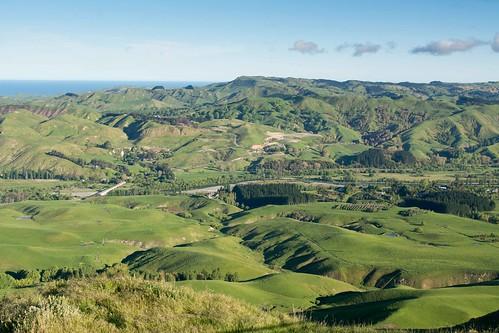 Vue depuis Te Mata Peak
