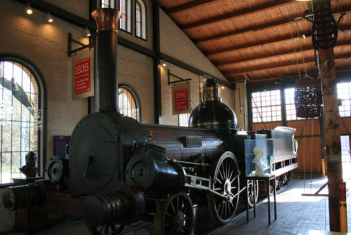 "Deutsches Technikmuseum Railway • <a style=""font-size:0.8em;"" href=""http://www.flickr.com/photos/160223425@N04/38239606544/"" target=""_blank"">View on Flickr</a>"