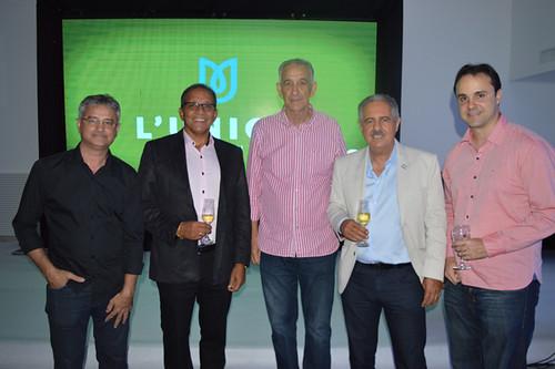 Celinho, Francisco Lemos, Elísio Cacildo e amigos