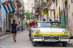 A typical street in La Habana