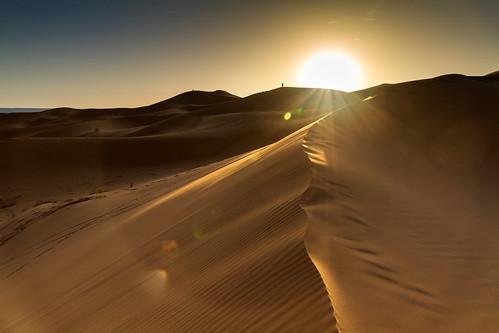 Sonnenaufgang in Merzouga