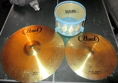 20170603 201706 2017 instrument guitar cymbal cymbals drum virginia alexandria clintandcarolynshouse upstairs yardsale yardsale20170603