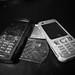 På tiden kommunikation tävla om så små telefoner som möjligt
