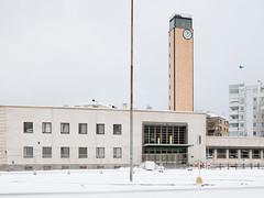 Bus Station, Lahti, Finland, December 2017