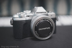 Olympus OM-D E-M10 III with 14-42mm lens