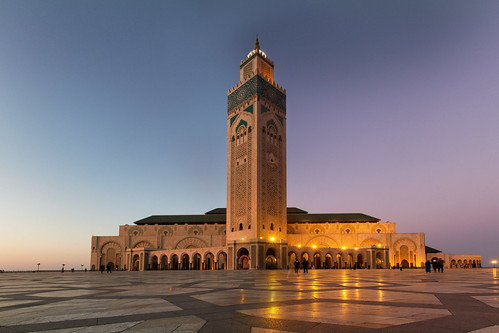 Hassan II Moschee - Day to Night