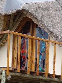 upstairs balcony at the lodge