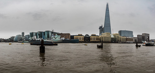 London The Shard and The Banks