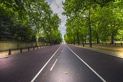 Road to the Wellington Arch - London - England