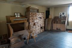 De werkplaats van Steimeyer Orgelbau.
