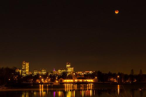 Lunar Eclipse over Denver