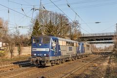 RBH 264 (151 143) en 267 (151 144) Oberhausen Osterfeld Süd