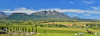 Val Du Charron view toward the Haweqa mountains
