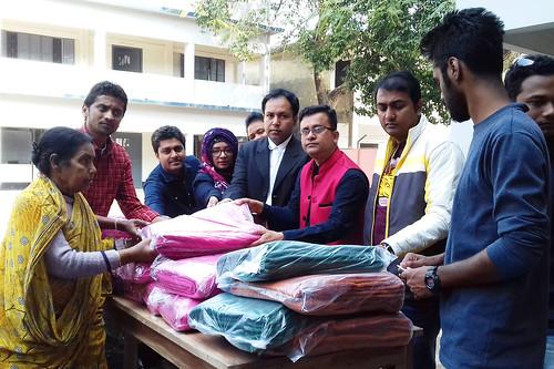 Jhenidah blanket distrinution Photo 21-01-18