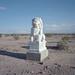 guardian lion / route 66. mojave desert, ca. 2014.