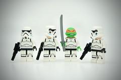 LEGO Stormtrooper Michelangelo