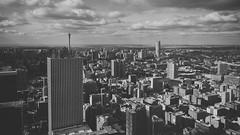 the city centre of Johannesburg