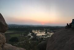 Sonnenuntergang in Hampi