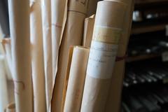 Het pand van Steinmeyer Orgelbau herbergt een schat aan documentatie.