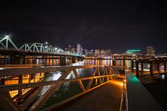 Hawthorne Bridge Night Scene