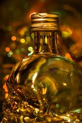 Crystal Head vodka....  in a (skull) bottle