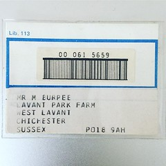 My first library card. #tbt A year living away surrounded by farms