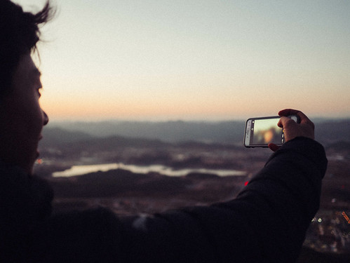 Climbing Geom-moo mountain for sunrise_MDY_180101_30