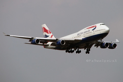 British Airways Boeing 747-400 BKK