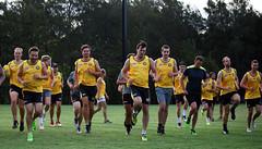 Balmain Tigers AFL Sydney Training Session February 22, 2018 00021