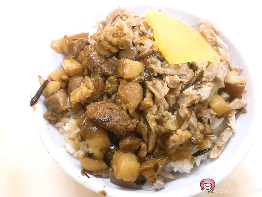 嘉義美食,朴子小吃,朴子美食,滷排骨飯,真好味小吃,配天宮,鴨滷飯 @VIVIYU小世界