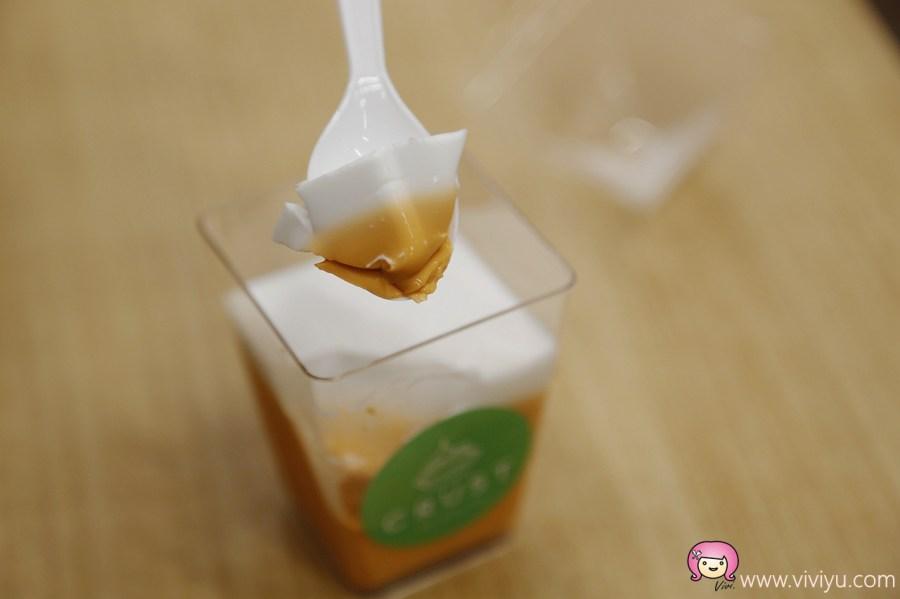 [曼谷美食]世界首創Crust Thai Patisserie~結合泰式傳統美食與法式塔皮.超推爆漿泰式奶茶起士塔!(Big C美食街) @VIVIYU小世界