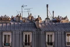Montmartre (Paris) - Toits de Paris