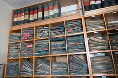 Het archief van Steinmeyer Orgelbau.