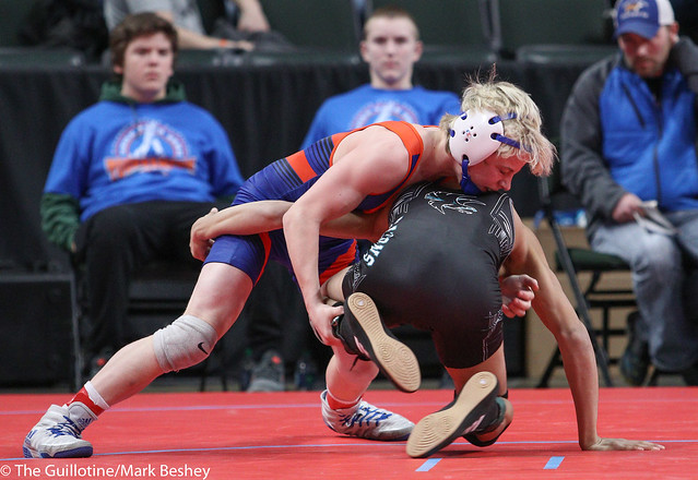 106A Quarterfinal - Carter Meiners (LPGE-Browerville Wolves) 39-8 won by decision over Kelvin Andrade-Ponce (Atwater-Cosmos-Grove City) 37-10 (Dec 3-2) - 180302cmk0014