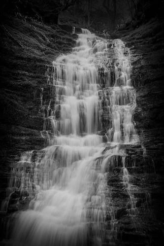 Break its neck waterfall Radnor Wales