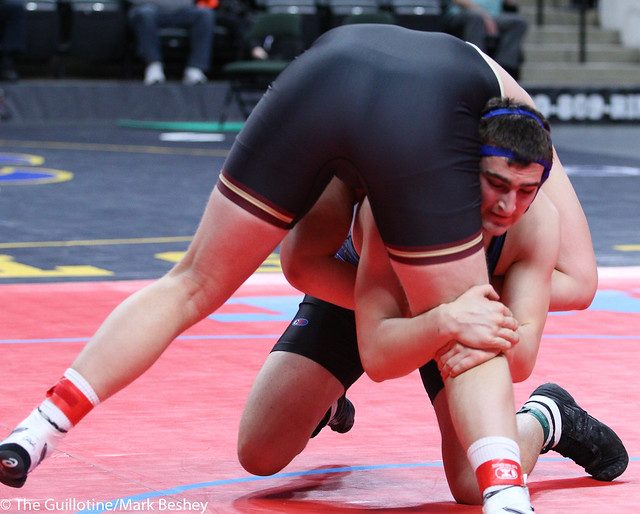285A 3rd Place Match - Trevor Oppedal (Blue Earth Area) 34-6 won by decision over Mitchell Oswald (Westfield Razorbacks) 34-7 (Dec 4-3) - 180303bmk0166