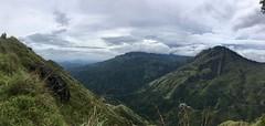 Aussicht vom little Adam's Peak
