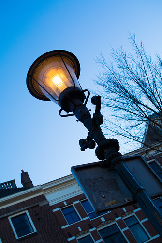 The Lamppost in Amsterdam