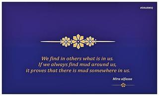 Quotes Mirra Alfassa – The Mother