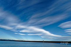Lenticular Clouds Beginning To Form