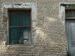 cowrie shell decoration, Ibo Island, Mozambique