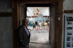Paul Steinmeyer voor de 'Orgelsaal'.