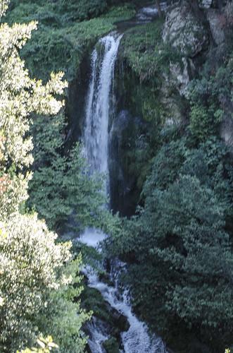 italia lazio roma tivoli villagregoriana cascata