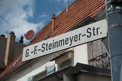 De G.-F.-Steinmeyer-Strasse in Oettingen.